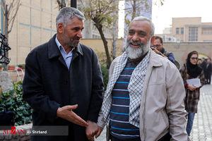 عکس/ سرداران سپاه در تشییع شهید خوش لفظ