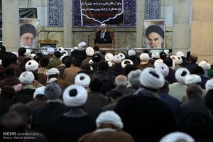 عکس/ مراسم بزرگداشت آیت الله حائری شیرازی در قم