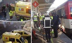 بروز سانحه در ایستگاه قطار در اسپانیا، 45 زخمی برجا گذاشت