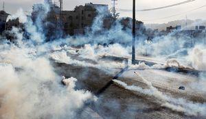 استفاده صهیونیستها از گاز سمی ناشناس علیه فلسطینیها