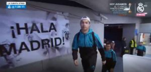 فیلم/ ورود بازیکنان رئال مادرید به سانتیاگوبرنابئو