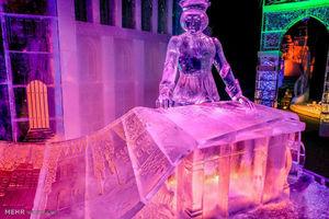 مجسمه های یخی در آلمان