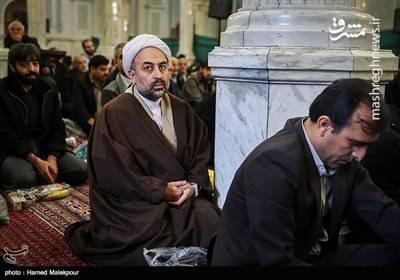حجت الاسلام زائری در مراسم ختم آیت الله حائری شیرازی