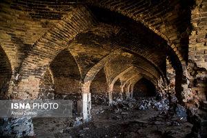 عکس/ کاروانسرای «قلعه خرگوشی» یزد