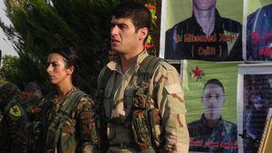 حضور فرمانده تجزیهطلبان کُرد در مسکو