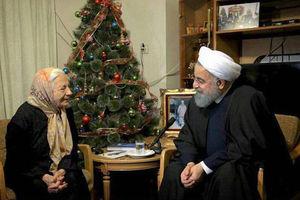 فیلم/ دیدار روحانی با خانواده شهدای ارامنه