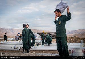 عکس/ ادامه خدمات سپاه به زلزلهزدگان کرمانشاهی