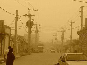 عکس/ گرد و غبار شدید در اهواز
