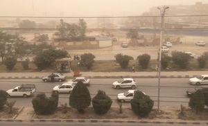 فیلم/ گرد و غبار شدید در اهواز