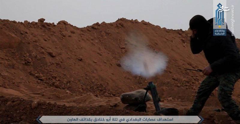 تروریستها به جان هم افتادند +عکس