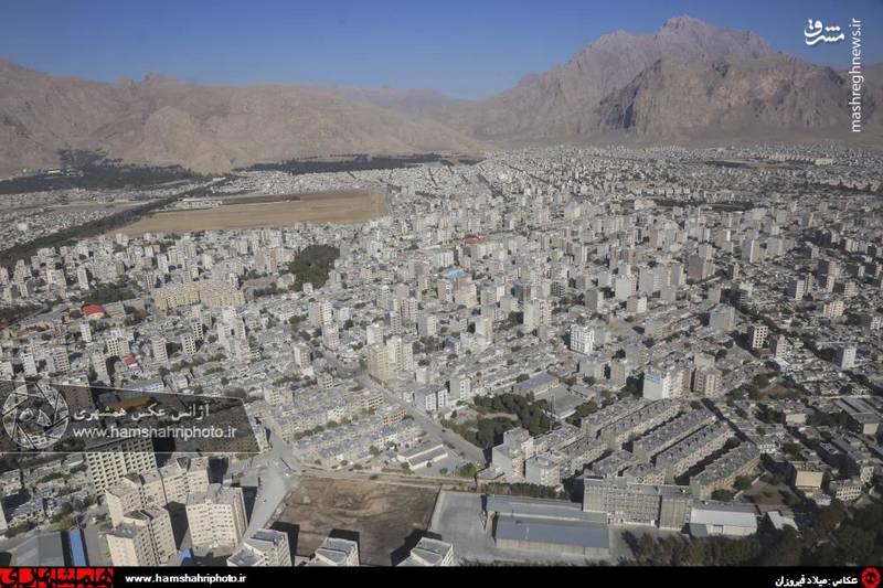 2148357 تصاویر هوایی از کرمانشاه