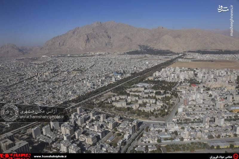 2148361 تصاویر هوایی از کرمانشاه