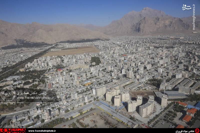 2148363 تصاویر هوایی از کرمانشاه