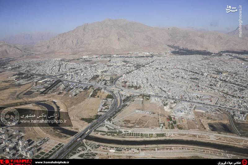 2148364 تصاویر هوایی از کرمانشاه