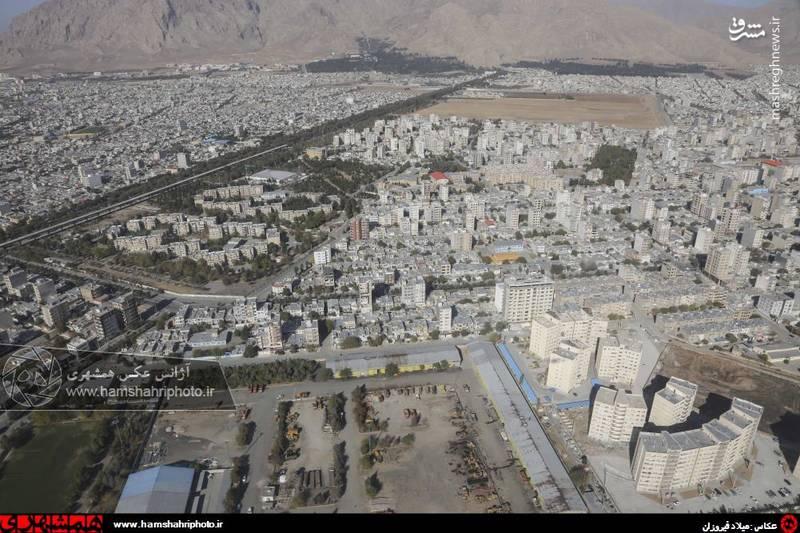 2148365 تصاویر هوایی از کرمانشاه