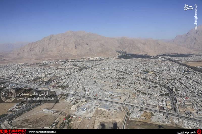 2148367 تصاویر هوایی از کرمانشاه