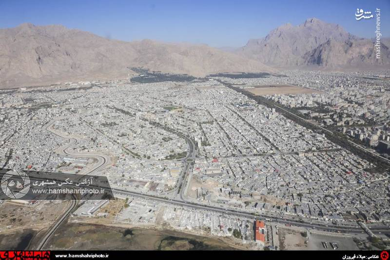 2148368 تصاویر هوایی از کرمانشاه