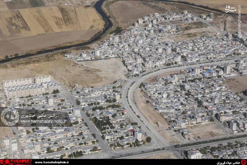 2148372 تصاویر هوایی از کرمانشاه