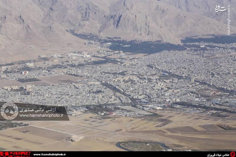 2148376 تصاویر هوایی از کرمانشاه