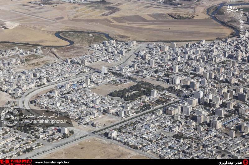 2148377 تصاویر هوایی از کرمانشاه