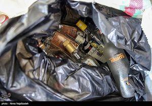 عکس/ پلمپ لابراتوار بزرگ تولید مشروبات الکلی