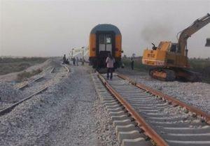 سانحه قطار دوپای عابر را قطع کرد