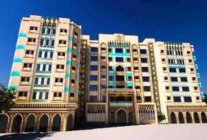 یک هتل مقر موقت سفارت آمریکا در قدس شد