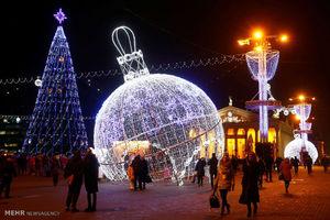 درخت های کریسمس در نقاط مختلف جهان