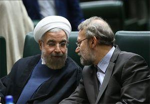 """لاریجانی مانع سوال مجلس از """"روحانی"""" است"""