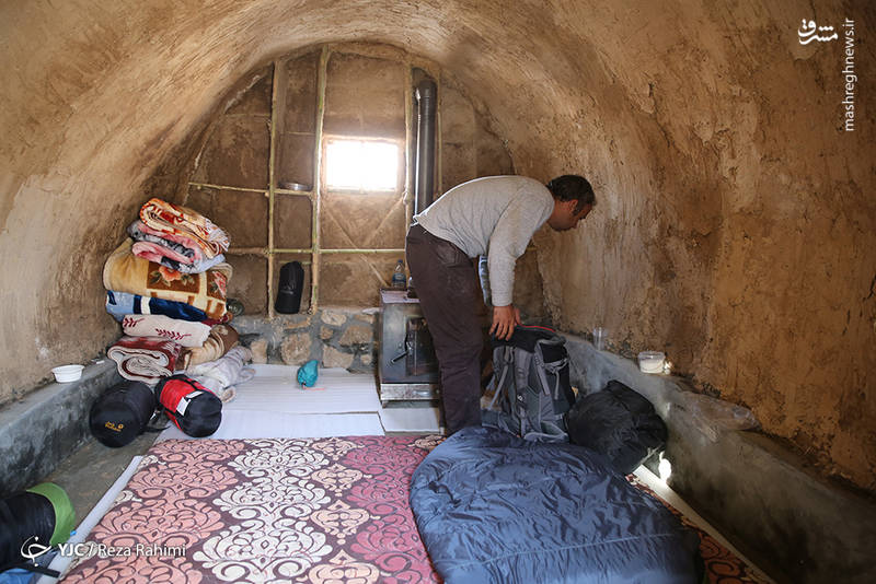 ساخت کپر در مناطق زلزله زده