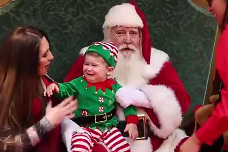 فیلم/ بابانوئلی که اشک بچهها را درآورد