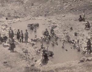 تصويرى از سرعین در زمان قاجار