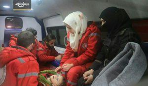 انتقال بیماران از منطقه تحت سیطره القاعده +عکس