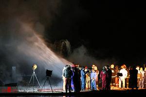 آخرین وضعیت اطفای آتش دکل «رگسفید»+عکس