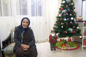 مادر شهید ویگن گاراپیدی