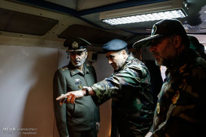 عکس/ بازدید فرمانده کل ارتش از بیمارستان صحرایی نزاجا
