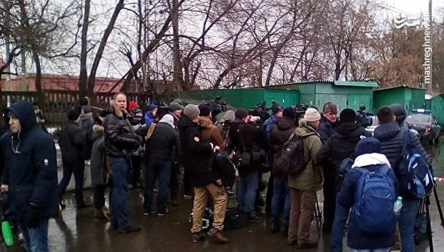 محل گروگانگیری در مسکو