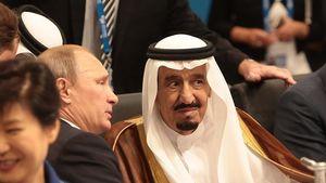 پوتین عربستان روسیه