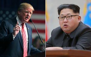 عکس/ خنده رهبر کرهشمالی به حماقت ترامپ