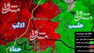 نبرد در جنوب استان ادلب به لحظات سرنوست ساز رسید؛ نیروهای جبهه مقاومت به ورودیهای جنوبی فرودگاه نظامی ابوظهور رسیدند + نقشه میدانی