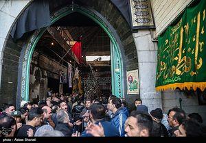 عکس/ تجمع هیئتهای مذهبی در محله درکه تهران