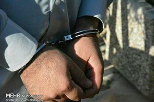 دستگیری اراذل ۱۳۰ کیلویی منطقه فلاح تهران