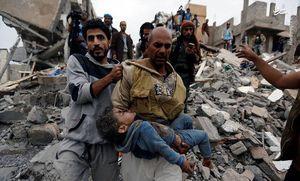 از پایان داعش و ادامه کشتار مردم یمن تا اوجگیری سیاستهای تهاجمی آمریکا + تصاویر و فیلم