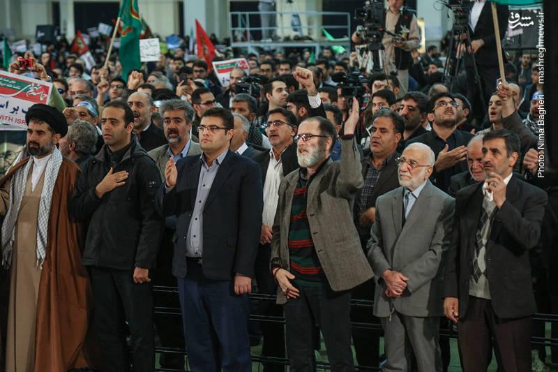 بزرگداشت حماسه ۹ دی در مصلی تهران