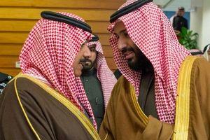 اولین حضور شاهزاده زندانی درکنار بن سلمان +عکس