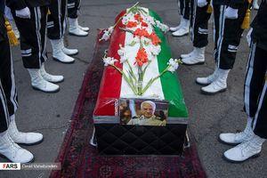 عکس/ تشییع پیکر امیر سیدعلیاکبر موسوی قویدل