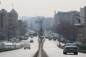 کیفیت هوای ۱۰ استان کشور باز هم ناسالم شد