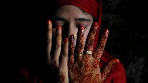 عکس/ جشن عروسی در اردوگاه آوارگان روهینگیا