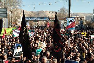 عکس/ قیام سراسری ایران علیه آشوبگران