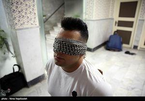 عکس/ بازداشت خانواده خلافکار مشهدی